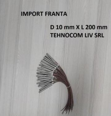 Rezistenta tubulara L 200 mm, P=500-1000 Wati de la Tehnocom Liv Rezistente Electrice, Etansari Mecanice