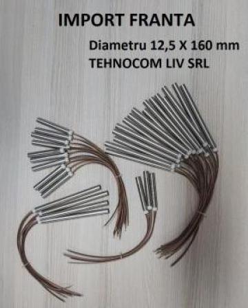 Rezistente electrice tubulare 12,5, L 160 mm, P400-1200W de la Tehnocom Liv Rezistente Electrice, Etansari Mecanice