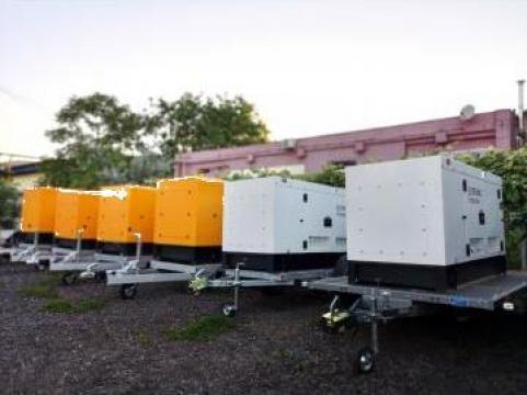 Inchiriere generatoare trifazate mobile de la Inchirieri Remorci Berceni