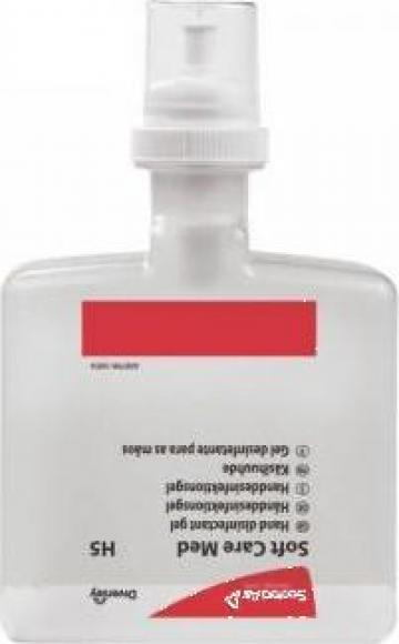 Dezinfectant pentru maini Soft Care Med H5 1.3 litri