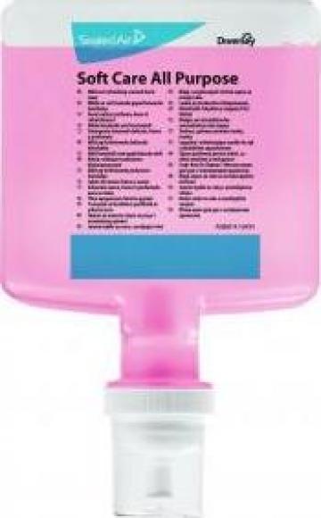 Sapun pentru maini - Soft Care All Purpose 1,3 litri de la Best Distribution Srl