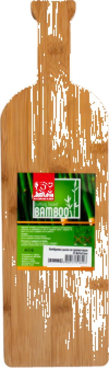 Tocator bambus pentru prezentare Raki 37,8x11x1,5cm de la Basarom Com