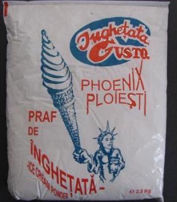 Praf pentru inghetata 2,5 Kg capsuni de la Cristian Food Industry Srl.