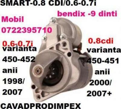 Electromotor Smart-0.6-0.7 i si 0.8cdi de la Cavad Prod Impex Srl