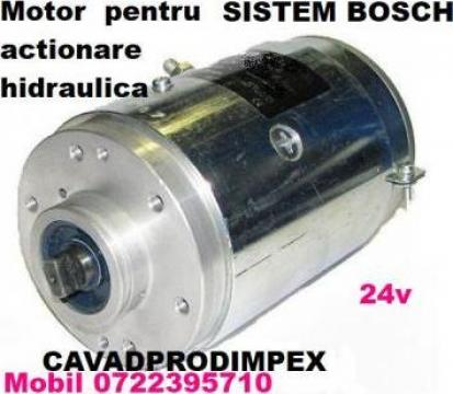 Motor electric pentru actionare hidraulica sistem Bosch 24V de la Cavad Prod Impex Srl