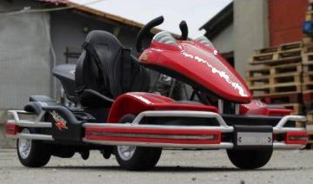 Kart Electric pentru copil 2-8 ani Dooma Go de la SSP Kinderauto & Beauty Srl