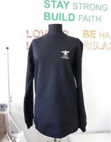 Bluze flausate de paza de la Sc Atelier Blue Srl