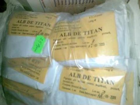 Pigment Alb de titan 100g