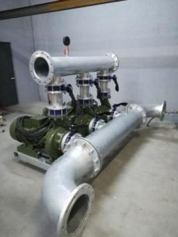 Grup pompare apa industriala, 3 x 200 mch, 20 mCA de la Master Engineering Srl