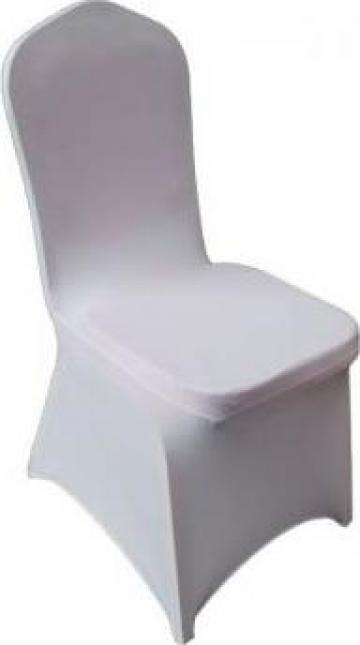 Huse elastice pentru scaune evenimente de la Klar Design Srl