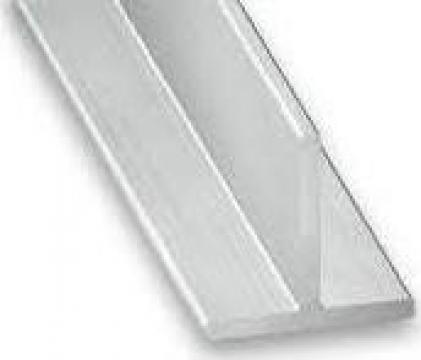 Profil T aluminiu 100x100x3.5 teu 6060 T6 duraluminiu dural de la MRG Stainless Group Srl
