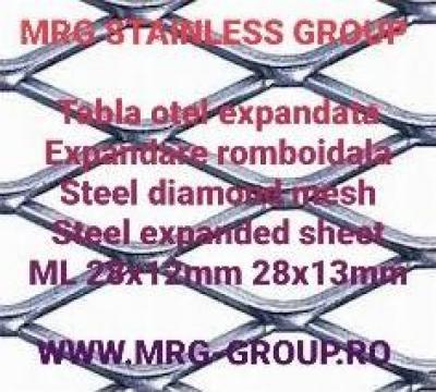 Tabla aluminiu expandata 0.5x1000x2000mm de la MRG Stainless Group Srl