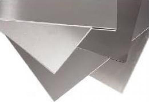Tabla aluminiu lisa 1mm EN-AW 1050A striata stucco perforata