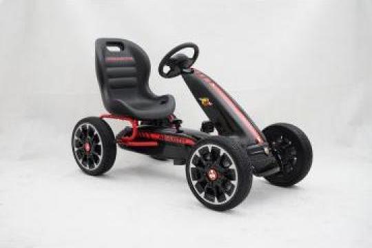Jucarie masinuta Go Kart cu pedale de la Fiat Abarth