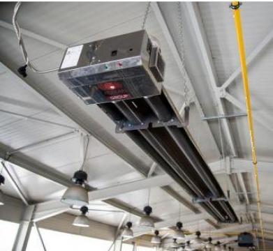 Tub radiant compact 13 kW de la Andra Engineering