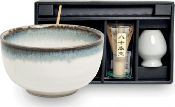 Set ceai Matcha Aurora 4 piese de la Expert Factor Foods Srl