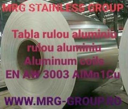 Rulou aluminiu 0.63x1000mm EN AW 3003 AlMn1Cu