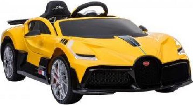 Jucarie masinuta electrica Buggati Divo 90W 12V Premium