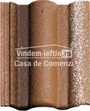 Tigla de beton 1/1 Bramac Adria Umbra de la Vindem-ieftin.ro