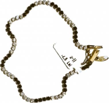Bratara din aur Black&White de la Dixi Bijou Srl
