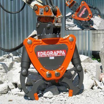 Cleste excavator demolator 430-2DE T44 de la Proma Machinery Srl.