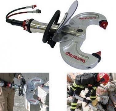 Demolator hidraulic portabil pentru beton 230 DE T10 de la Proma Machinery Srl.