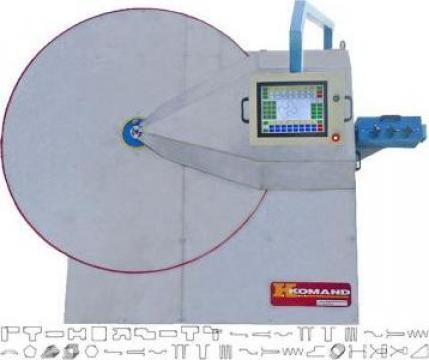 Masina automata de confectionat etrieri Komand AB-10 de la Proma Machinery Srl.