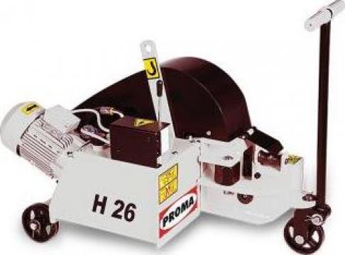 Masini debitat otel-beton hidraulice H26 de la Proma Machinery Srl.
