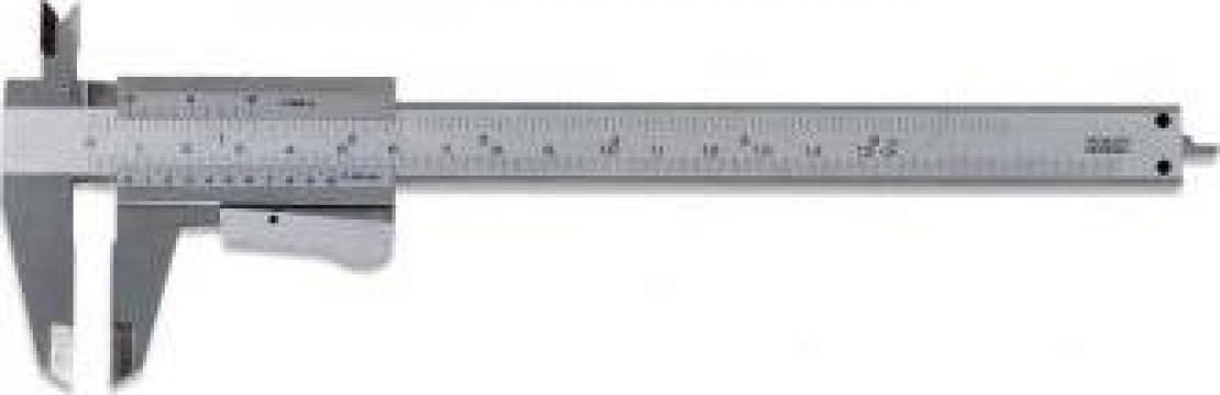Subler cu autoblocare 0-150 DIN 862 C018/150 de la Proma Machinery Srl.