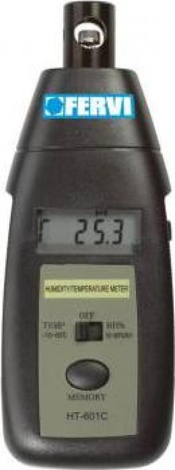 Tester digital umiditate si temperatura T057 de la Proma Machinery Srl.