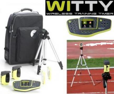Sistem cronometrare atletism individual sau antrenament