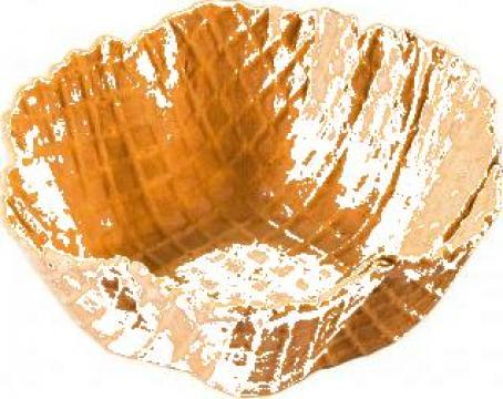 Cornet inghetata Fauna (farfurie) 176 buc/bax de la Cristian Food Industry Srl.
