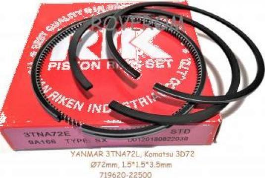 Segmenti piston Yanmar 3TNA72, 3TNA72L, 72mm, 1.5x1.5x3.5mm