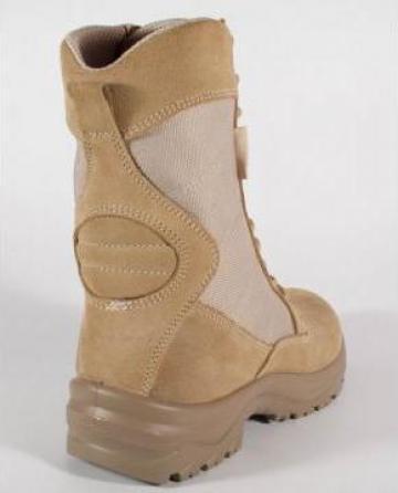 Bocanci militari de vara 329D bej (desert) Kombat de la Shoes Top