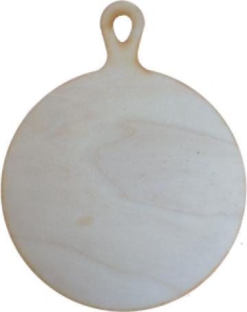 Tocator decorativ din placaj plop, 0.4 cm