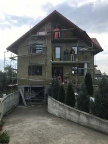Izolatii minerale fatada casa