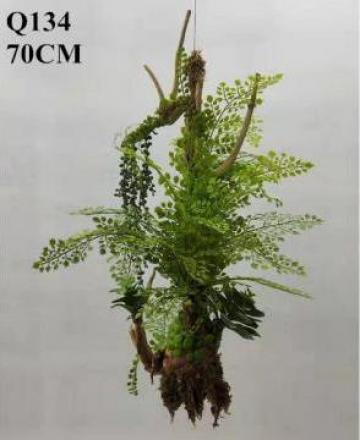 Floare artificiala Green Faux Fern Plants Hanging Fern de la Sharetrade Artificial Plant And Tree Manufacture Co., Ltd