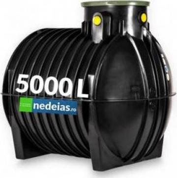 Rezervor subteran orizontal pentru stocarea apei 5000L de la Nedeias Com Srl