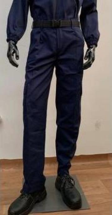 Pantaloni agent paza bleumarin