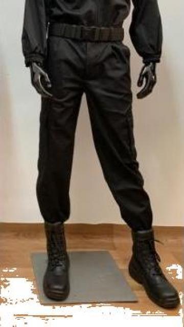 Pantaloni agent paza negru de la Stefan Design Serv Srl