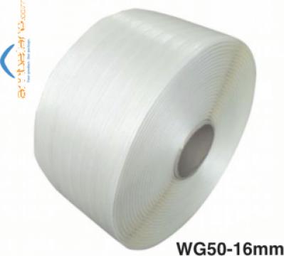 Banda poliester textil hotmelt (PES) WG50, 16mm x 850m de la Romaflorimex Srl