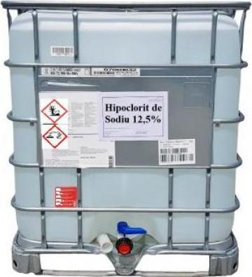 Hipoclorit de sodiu concentrat 12,5%