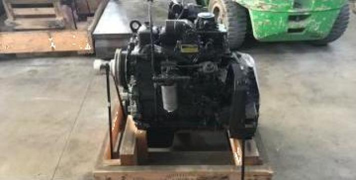 Motor Iveco complet p/n 87342413 pentru buldoexcavator LB110 de la Instalatii Si Echipamente Srl
