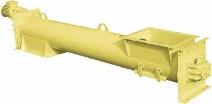 Snecuri deschise - transportoare cu snec elicoidale tubulare de la Proconsil Grup Iasi