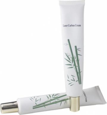 Crema carbon pentru rejuvenare faciala cu laser