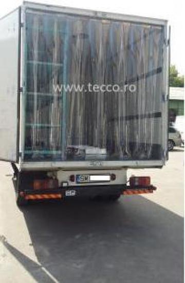 Perdea pentru camion frigorific din fasii Tecco PVC de la Tecco Door Srl