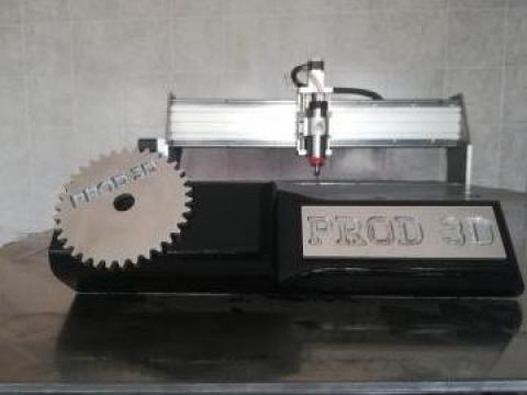 Debitare CNC - aluminiu, MDF, otel, inox, PAL, acrilic de la Prod 3d Srl