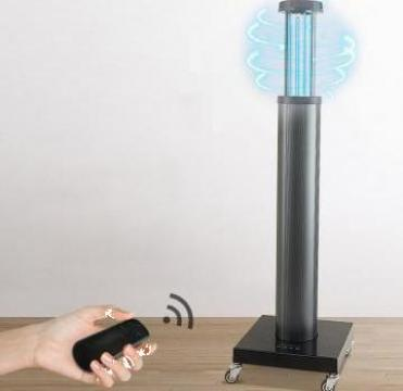Lampa profesionala UV-C+ozon, dezinfectie, sterilizare de la Daysportcom SRL