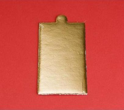 Monoportie carton auriu 12x5,5cm, 200 buc/set de la Cristian Food Industry Srl.