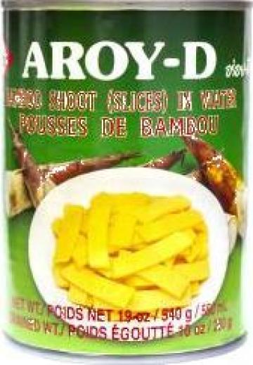 Muguri de bambus feliati Aroy-D de la Expert Factor Foods Srl